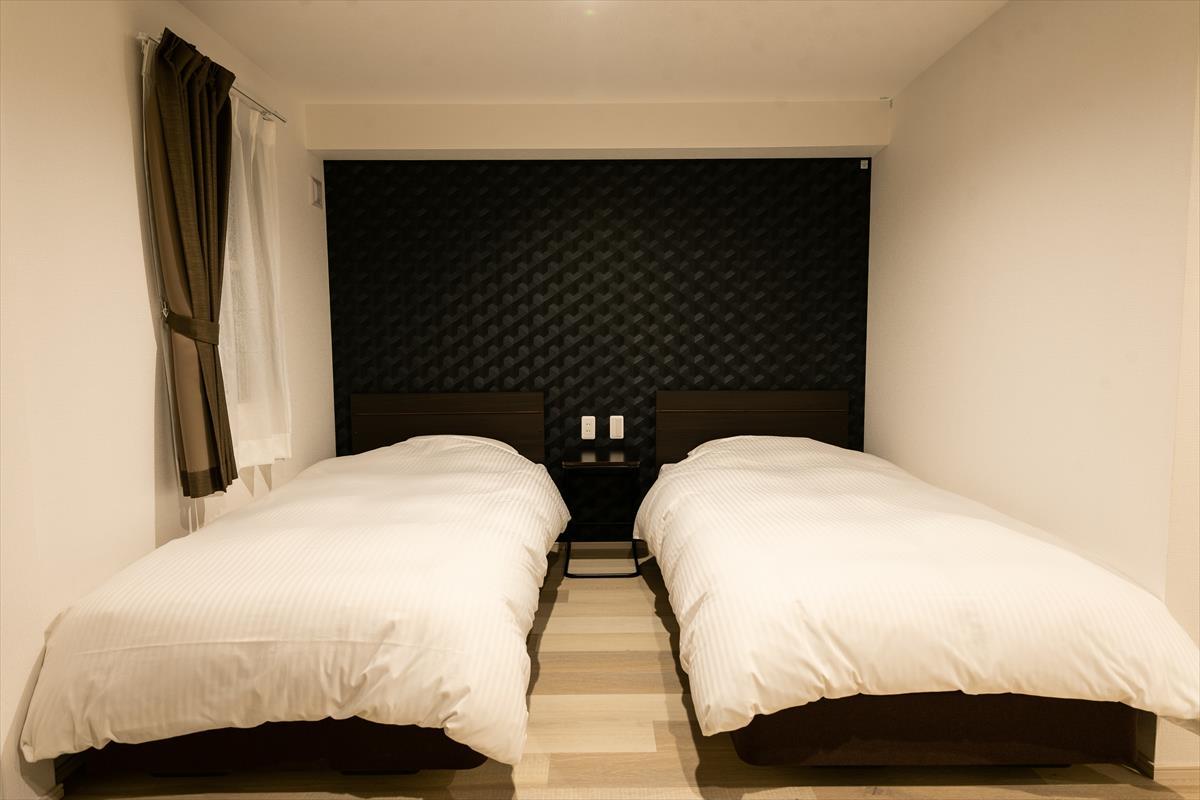 客室内写真ベッド(ツイン)